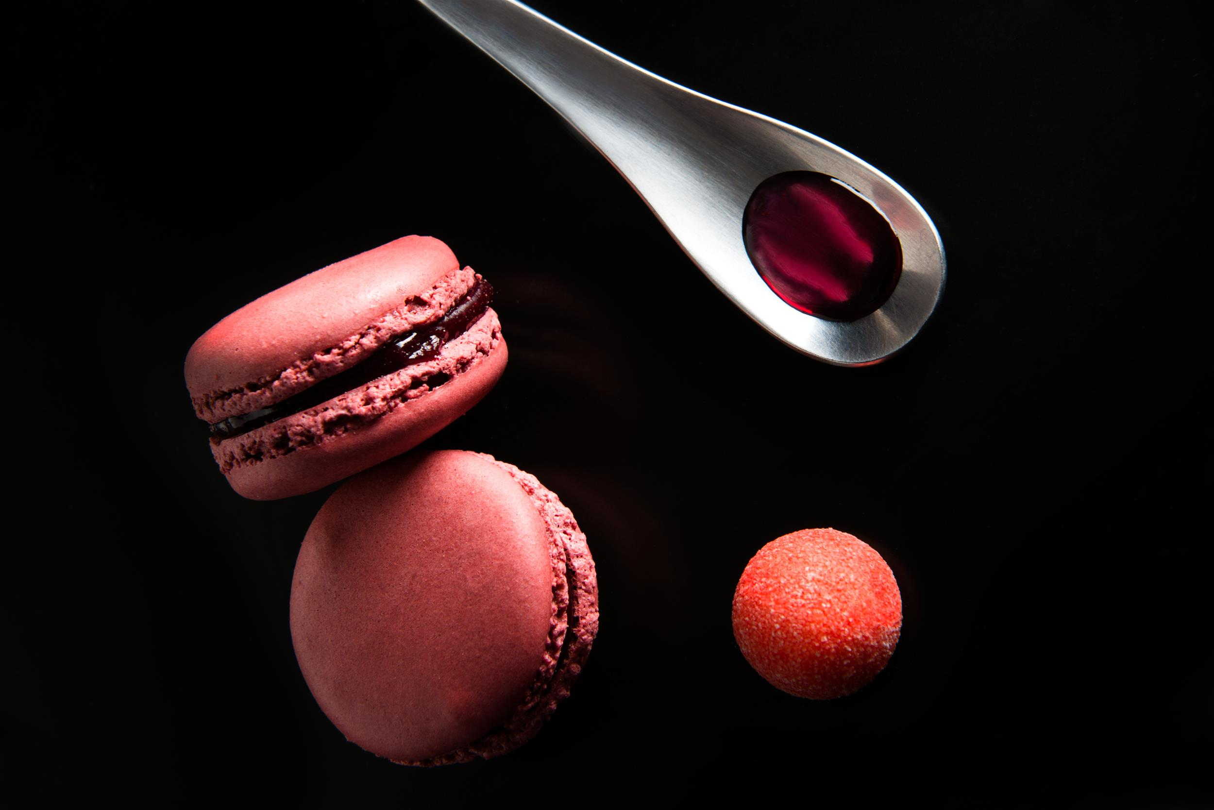 By Clément Reisky - Macarons à la Fraise Tagada